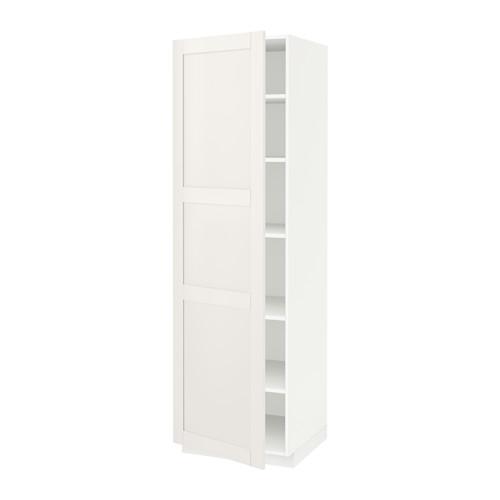 METOD - high cabinet with shelves, white/Sävedal white | IKEA Hong Kong and Macau - PE524727_S4