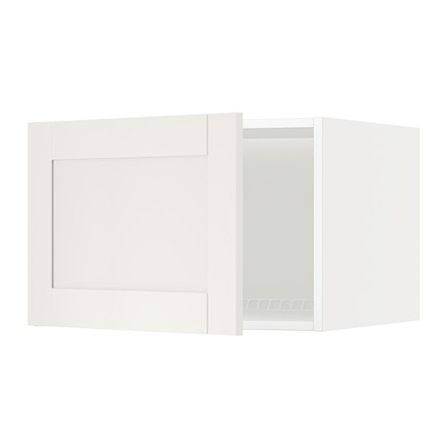 METOD top cabinet for fridge/freezer