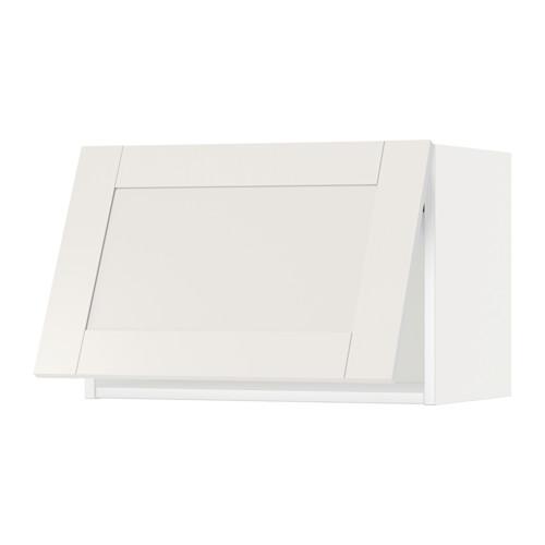 METOD - wall cabinet horizontal w push-open, white/Sävedal white | IKEA 香港及澳門 - PE524756_S4