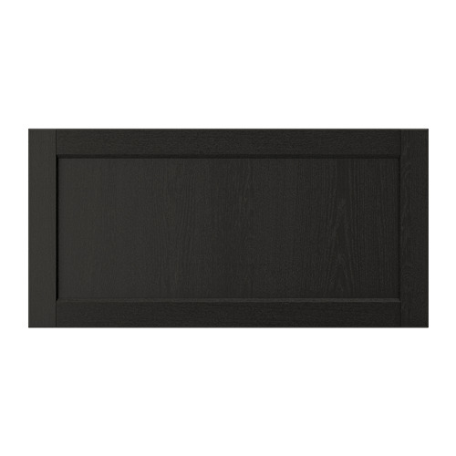 LERHYTTAN - drawer front, black stained | IKEA Hong Kong and Macau - PE697800_S4
