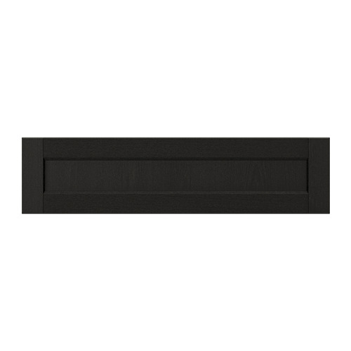 LERHYTTAN - drawer front, black stained | IKEA Hong Kong and Macau - PE697806_S4