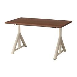 IDÅSEN - 書檯, 120x70cm, 褐色/米黃色 | IKEA 香港及澳門 - PE697856_S3
