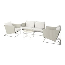 HAVSTEN - 4-seat conversation set, in/outdoor, beige | IKEA Hong Kong and Macau - PE740650_S3