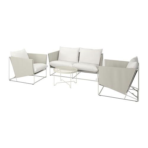 HAVSTEN - 室內/戶外四座椅組合, 米黃色 | IKEA 香港及澳門 - PE740650_S4