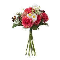 SMYCKA - artificial bouquet, dark pink | IKEA Hong Kong and Macau - PE697928_S3