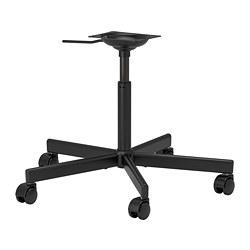 ÖRFJÄLL - chair frame, swivel, black | IKEA Hong Kong and Macau - PE740758_S3