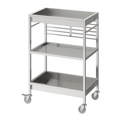 KUNGSFORS - kitchen trolley, stainless steel | IKEA Hong Kong and Macau - PE740781_S3