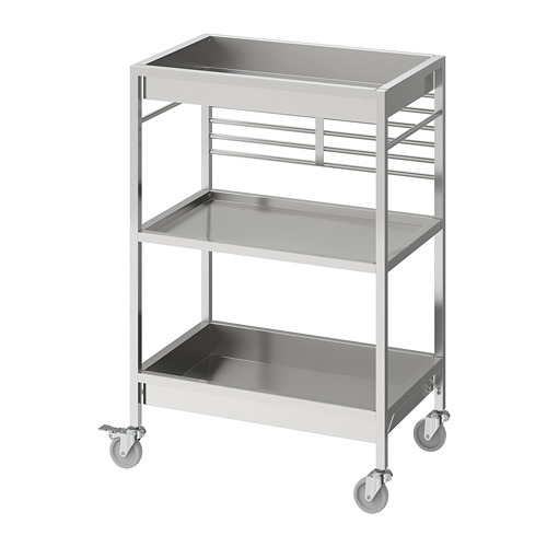KUNGSFORS - kitchen trolley, stainless steel | IKEA Hong Kong and Macau - PE740781_S4