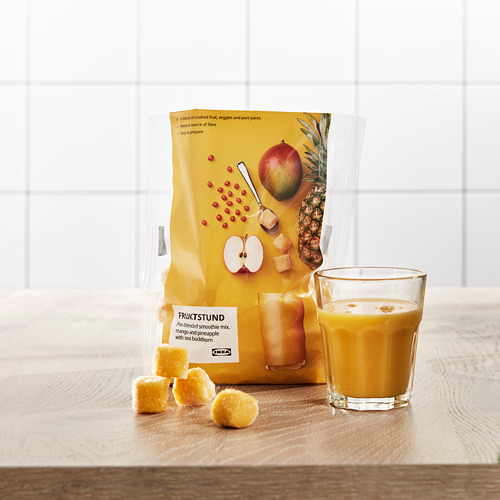 FRUKTSTUND - pre-blended smoothie mix, mango/pineapple with sea buckthorn/frozen | IKEA Hong Kong and Macau - PE778621_S4