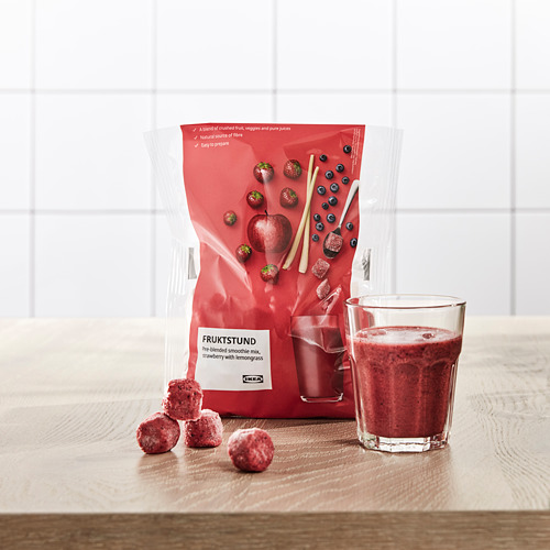 FRUKTSTUND - pre-blended smoothie mix, strawberry with lemongrass/frozen | IKEA Hong Kong and Macau - PE778635_S4