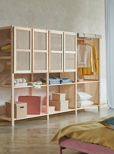 IVAR storage combination with doors