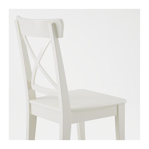 INGATORP/INGOLF - table and 6 chairs, white/white | IKEA Hong Kong and Macau - PE590562_S4