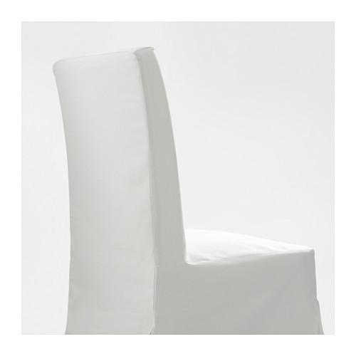 HENRIKSDAL 餐椅連長椅套