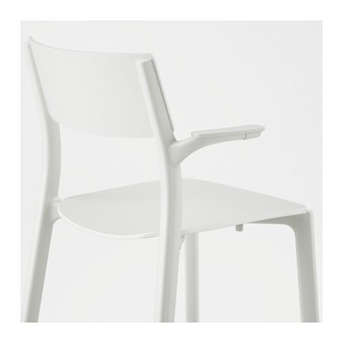 JANINGE - chair with armrests, white | IKEA Hong Kong and Macau - PE590619_S4