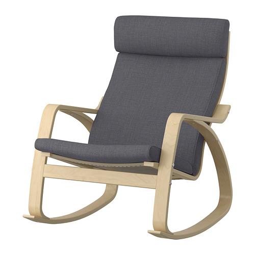 POÄNG - 搖椅, 樺木飾面/Skiftebo 深灰色 | IKEA 香港及澳門 - PE793558_S4