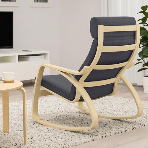 POÄNG - 搖椅, 樺木飾面/Skiftebo 深灰色 | IKEA 香港及澳門 - PE793560_S4