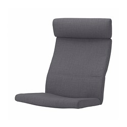 POÄNG - armchair cushion, Skiftebo dark grey | IKEA Hong Kong and Macau - PE793582_S3