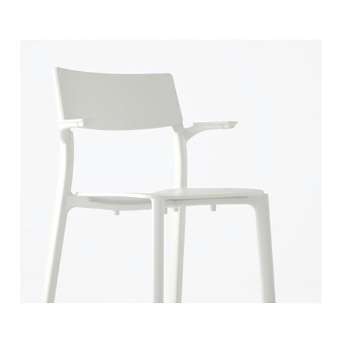 JANINGE - chair with armrests, white | IKEA Hong Kong and Macau - PE590831_S4