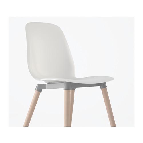 LEIFARNE - 椅子, 白色/Ernfrid 樺木 | IKEA 香港及澳門 - PE590837_S4