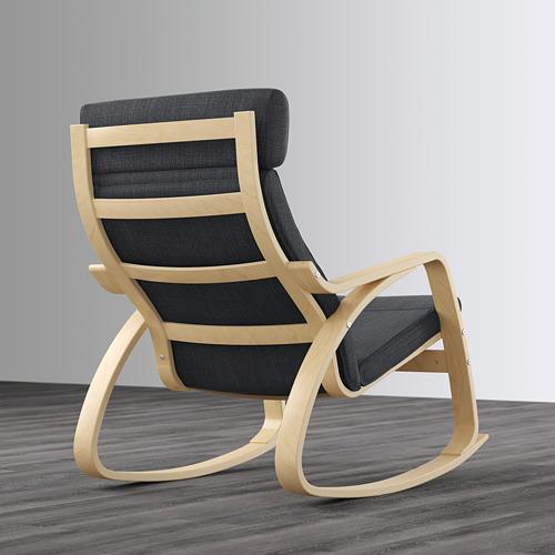 POÄNG - 搖椅, 樺木飾面/Hillared 炭黑色   IKEA 香港及澳門 - PE629317_S4