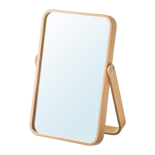 IKORNNES - 座檯鏡, 梣木 | IKEA 香港及澳門 - PE698269_S4