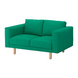 NORSBORG - 2-seat sofa, Edum bright green/birch             | IKEA Hong Kong and Macau - PE651042_S3