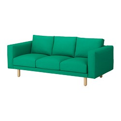 NORSBORG - 3-seat sofa, Edum bright green/birch             | IKEA Hong Kong and Macau - PE651029_S3