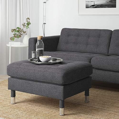 LANDSKRONA - armchair, Gunnared dark grey/metal   IKEA Hong Kong and Macau - PE680122_S4