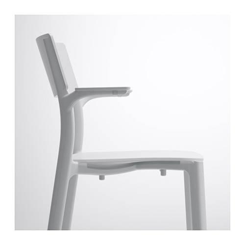 JANINGE chair with armrests