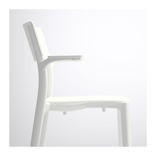 JANINGE - chair with armrests, white | IKEA Hong Kong and Macau - PE591012_S4