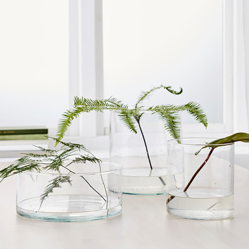 CYLINDER 花瓶/盤,3件套裝