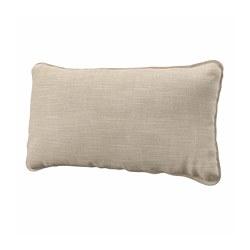 VALLENTUNA - back cushion, Hillared beige | IKEA Hong Kong and Macau - PE793812_S3
