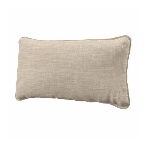 VALLENTUNA - back cushion, Hillared beige | IKEA Hong Kong and Macau - PE793812_S4