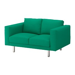 NORSBORG - 2-seat sofa, Edum bright green/metal | IKEA Hong Kong and Macau - PE651325_S3