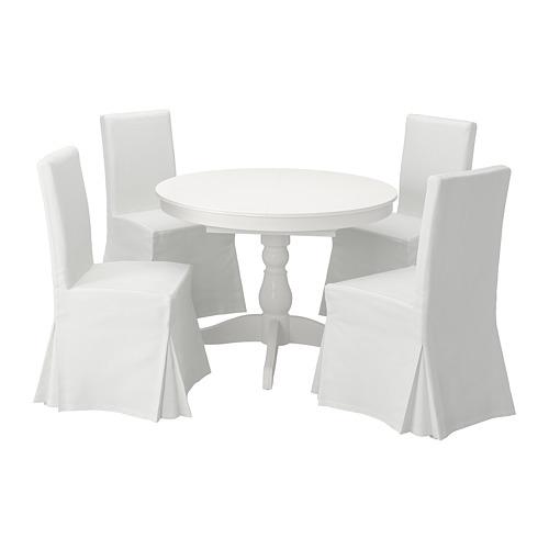 INGATORP/HENRIKSDAL 一檯四椅