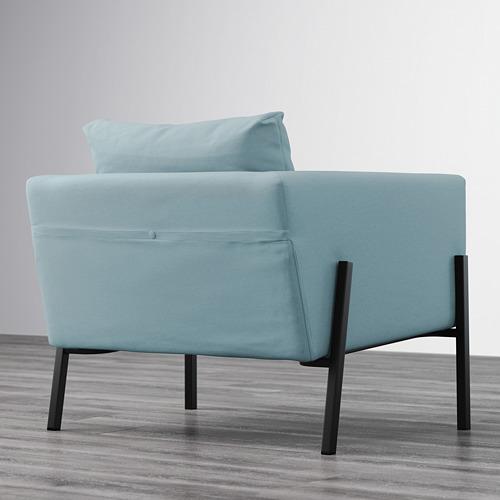 KOARP - armchair, Orrsta light blue/black | IKEA Hong Kong and Macau - PE643236_S4