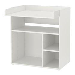 SMÅSTAD - 更換尿布檯/書檯, 白色 | IKEA 香港及澳門 - PE793827_S3