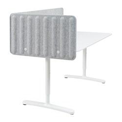 BEKANT - 書檯連屏風, 160x80cm, 白色/灰色 | IKEA 香港及澳門 - PE793889_S3