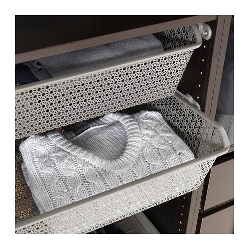 KOMPLEMENT - 金屬籃連導軌, 深灰色 | IKEA 香港及澳門 - PE377320_S4