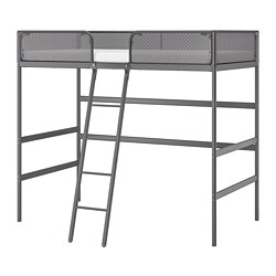 TUFFING - loft bed frame, dark grey | IKEA Hong Kong and Macau - PE698663_S3