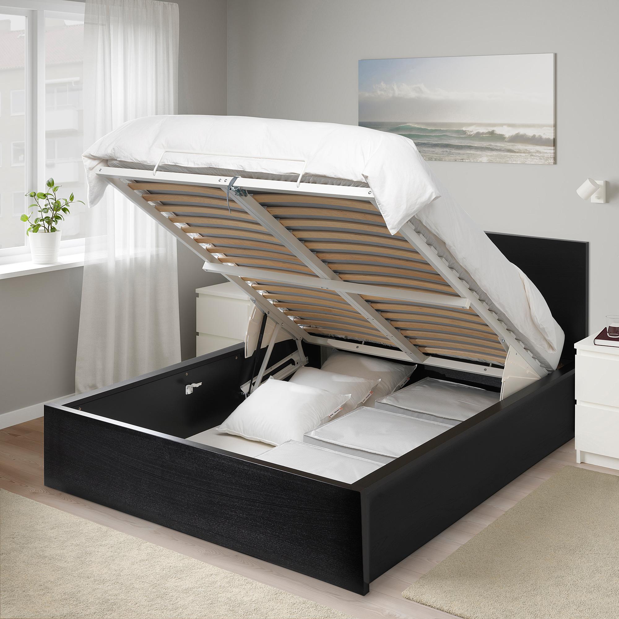 Remarkable Malm Ottoman Bed Double Ikea Hong Kong Beatyapartments Chair Design Images Beatyapartmentscom