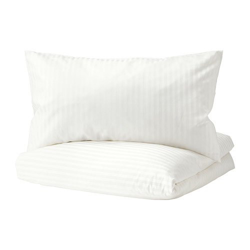 NATTJASMIN - quilt cover and 2 pillowcases, white, 240x220/50x80 cm  | IKEA Hong Kong and Macau - PE698815_S4