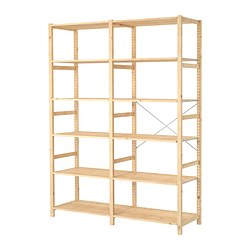 IVAR - 2 sections/shelves, 174x50x226 cm, pine | IKEA Hong Kong and Macau - PE297655_S3