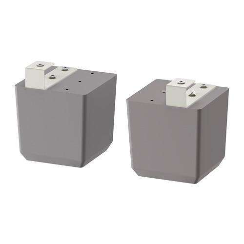 BODBYN - 櫃腳, 灰色   IKEA 香港及澳門 - PE698909_S4