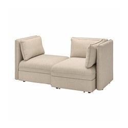 VALLENTUNA - 兩座位組合式梳化連梳化床, and storage/Hillared beige   IKEA 香港及澳門 - PE794025_S3