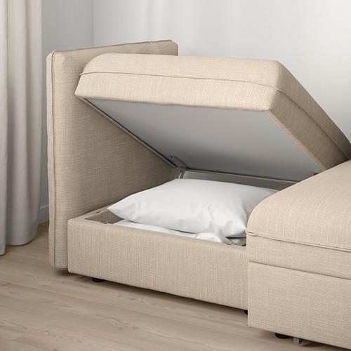 VALLENTUNA 兩座位組合式梳化連梳化床