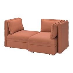 VALLENTUNA - 2-seat modular sofa with sofa-bed, and storage/Kelinge rust | IKEA Hong Kong and Macau - PE794031_S3
