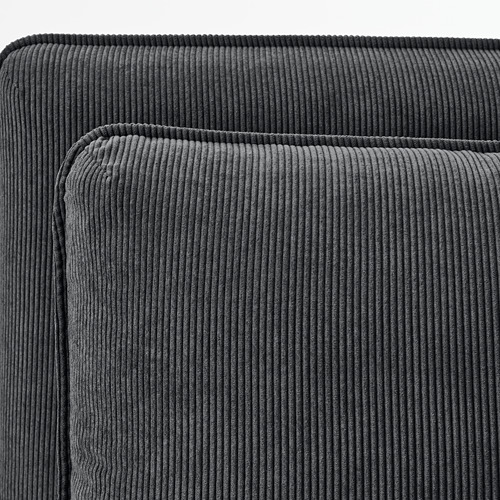 VALLENTUNA - 2-seat modular sofa with sofa-bed, and storage/Kelinge anthracite | IKEA Hong Kong and Macau - PE794034_S4