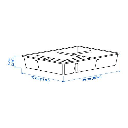 RAGGISAR - 盤, 深灰色   IKEA 香港及澳門 - PE794040_S4