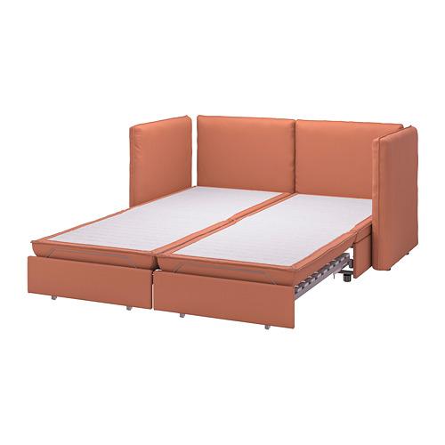 VALLENTUNA - 兩座位組合式梳化連2張梳化床, Kelinge rust | IKEA 香港及澳門 - PE794095_S4